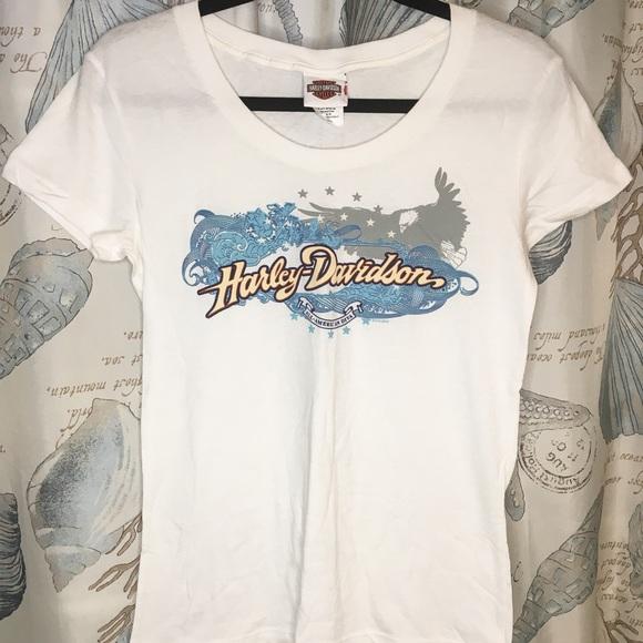 Ladies Harley Davidson T-shirt, size small.